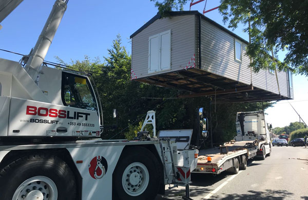 Placing a mobile home on your property temporarily or