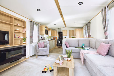 ABI Blenheim mobile home